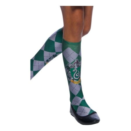 Harry Potter Slytherin Strumpor - One size (barnstorlek)