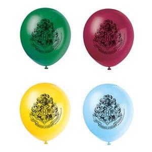 Planera Harry Potter-kalas - Ballonger Harry Potter Flerfärgade
