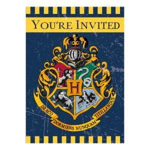 Planera Harry Potter-kalas - Inbjudningskort Harry Potter
