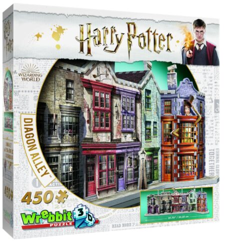 Harry Potter 3D-pussel Diagongränden 450 bitar