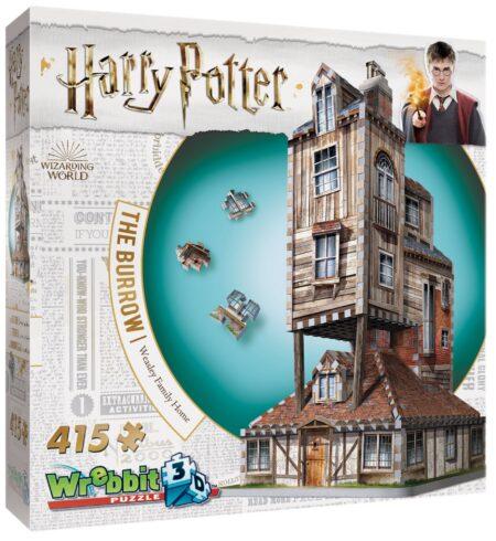 Harry Potter 3D-pussel Kråkboet 415 bitar