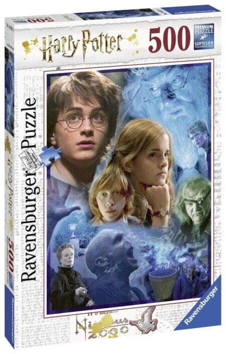 Ravensburger Harry Potter Pussel På Hogwarts 500 Bitar