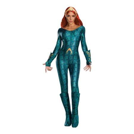 Aquaman Mera Deluxe Maskeraddräkt - Medium