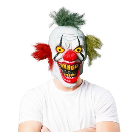 Dubbeleggad Clown Mask - One size