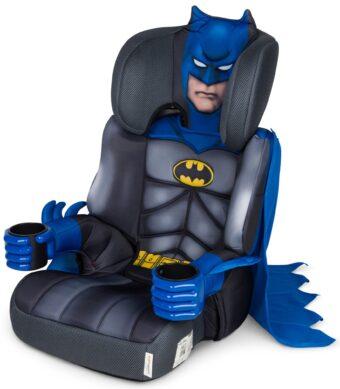 Kids Embrace Bältesstol Batman, Svart