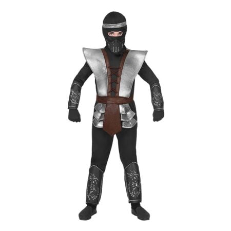 Ninja Halloween Barn Maskeraddräkt - Medium