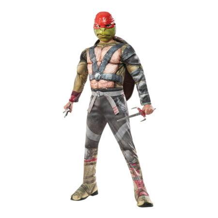 TMNT Raphael med Dolkar Deluxe Barn Maskeraddräkt - Small