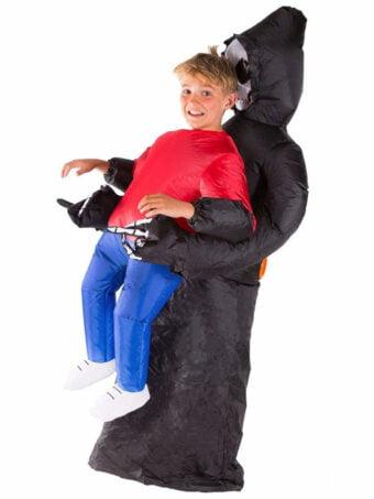 Uppblåsbar Liemannen Dräkt Barn