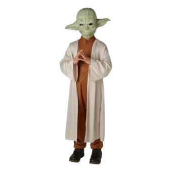 Yoda Klassisk Barn Maskeraddräkt - Large
