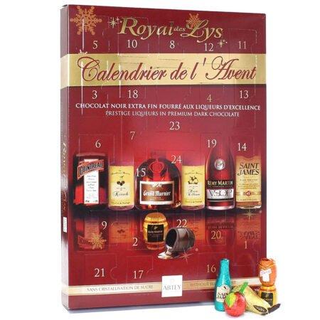 Adventskalender med Spritfylld Choklad