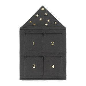 ferm LIVING Hus Adventskalender Grön One Size