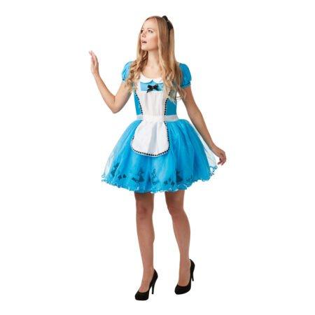 Alice i Underlandet Klänning Maskeraddräkt - Medium