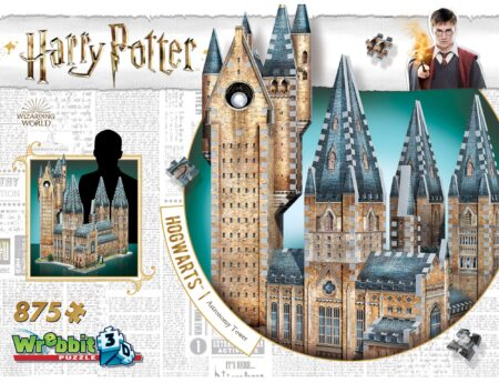Harry Potter 3D-pussel Hogwarts Astronomitorn 875 bitar