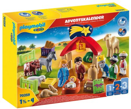 Playmobil 70259 Adventskalender Jul Krubba
