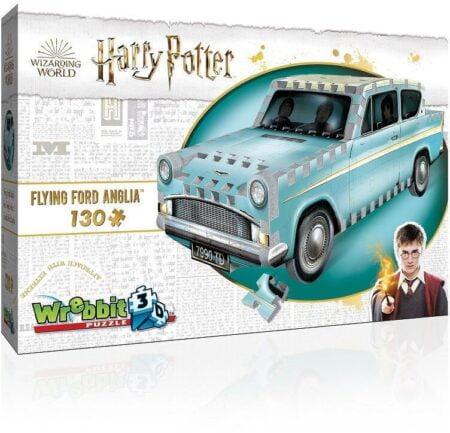 Harry Potter 3D-Pussel Flygande Ford Anglia 130 Bitar
