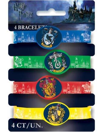 4 stk Elastiska Armband - Harry Potter