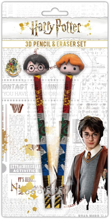 Harry Potter Pennset Med Suddgummi