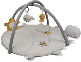 DbD Babygym Sea Friends Grey