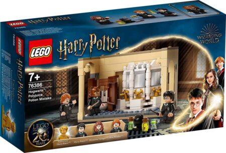 LEGO Harry Potter 76386 Hogwarts: Misstag med polyjuice-elixir