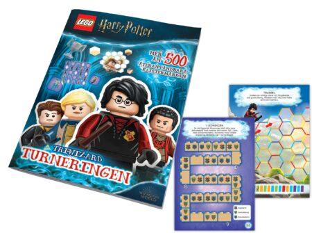 LEGO Harry Potter Aktivitetsbok Med Klistermärken