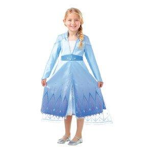Frozen 2 Elsa Premium Barn Maskeraddräkt