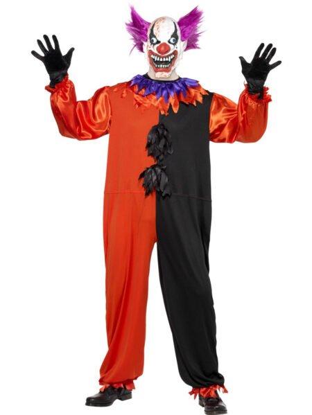Clowndräkt Skräck Bloody Boo