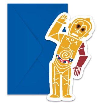 Star Wars Forces Inbjudningskort