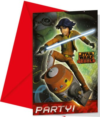Star Wars Rebels Inbjudningskort