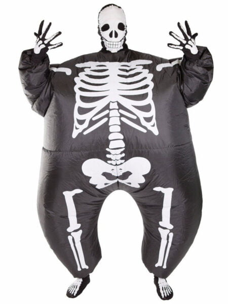 Uppblåsbar Skelettdräkt