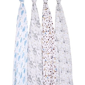 Aden + Anais 4-Pack Harry Potter™ Classic Swaddles One Size