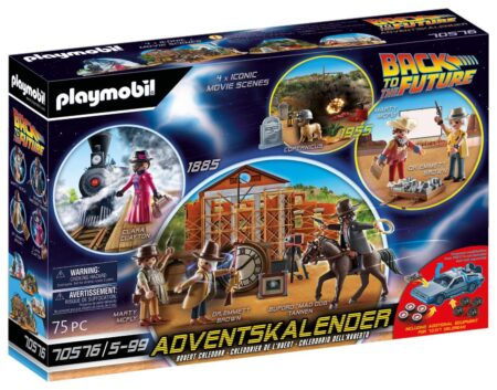 Playmobil 70576 Adventskalender Back To The Future Part III