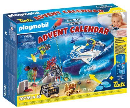 Playmobil 70776 Adventskalender Bathtime Fun Police Diving Mission With Tinti